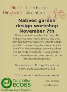 2015-November Natives garden design